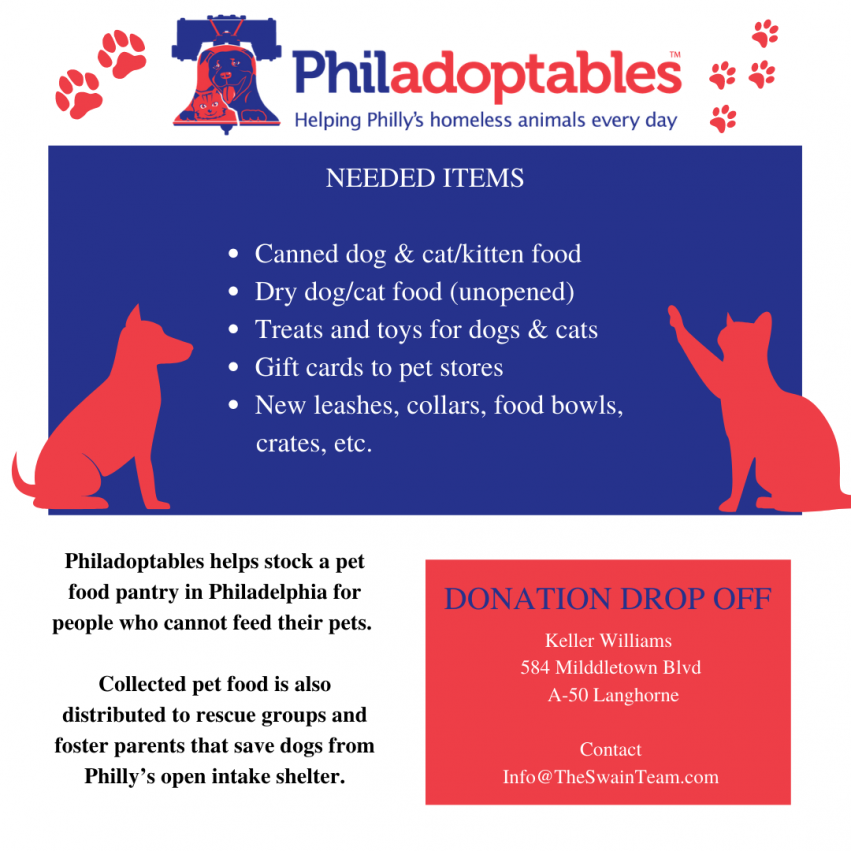 Pet Supply & Food DRive
